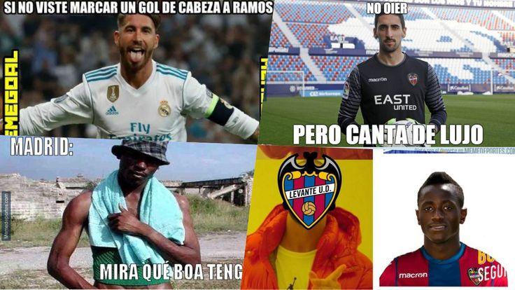 Los mejores memes del Levante vs Real Madrid