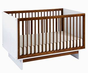 Our Picks for Transitional Cribs: Sleek Convertible Sleeper (via Parents.com)