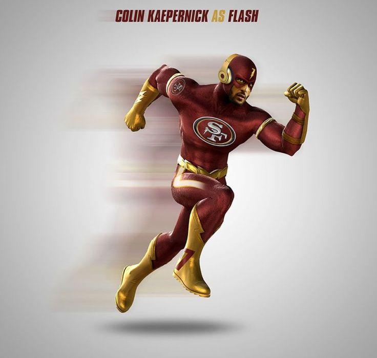 Collin Kaepernick as The Flash
