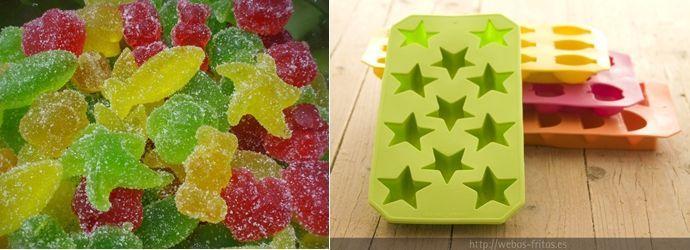 Recetas para fiestas infantiles: receta de gominolas   Fiestas y Cumples