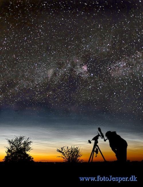 Observation. Starry sky. Jesper Grønne. Awsome!
