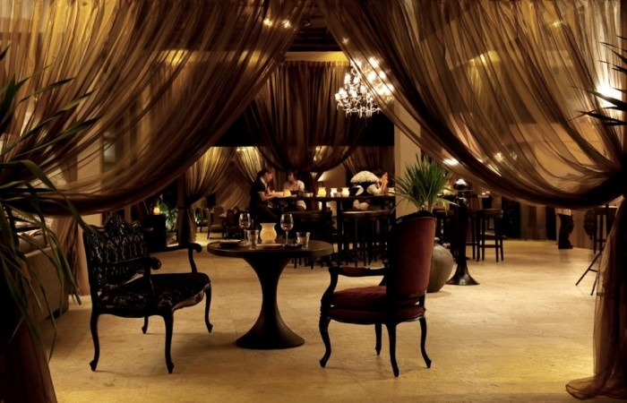 Sarong Restaurant Interior, Bali  Will Meyrick- Asian Inspired | Luxlink