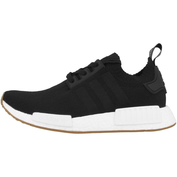 Adidas NMD_R1 Primeknit Shoes Men\u0027s Sneakers black gum BY1887 Torsion 750  700
