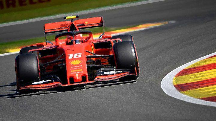 Looksmart Models Lsf1023 Ferrari Sf90 16 Leclerc Winner Belgian