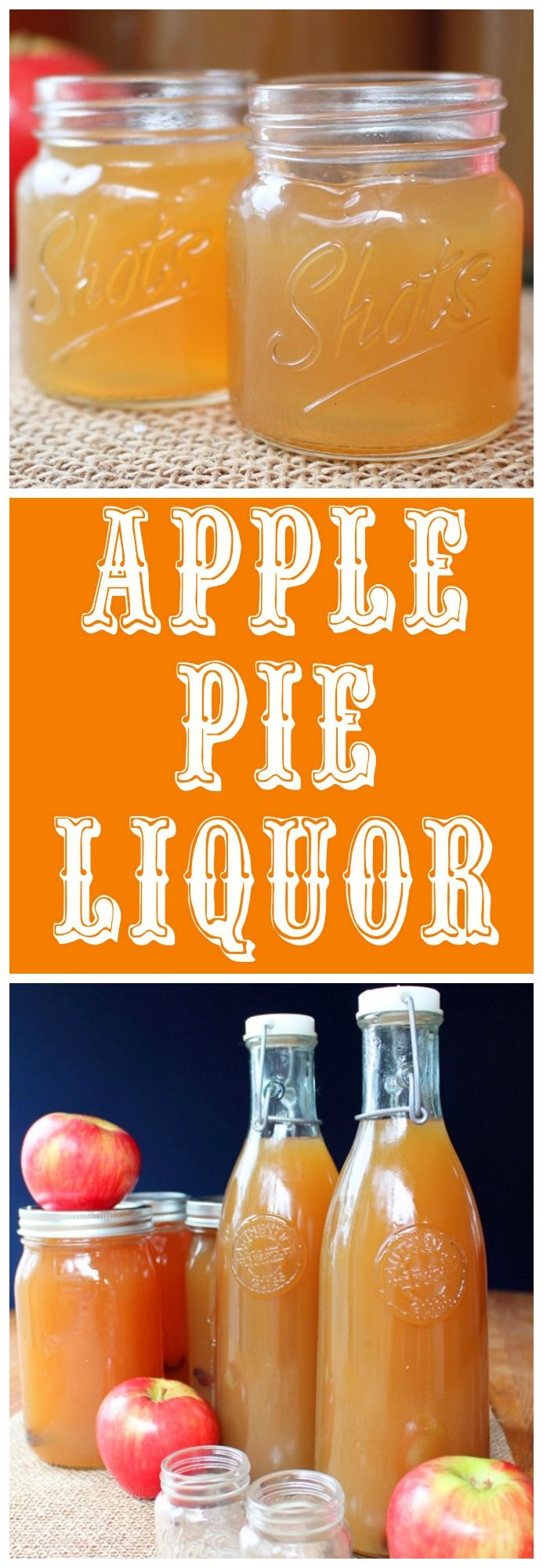 This is one of my favorite Fall traditions. Mountain Man introduced me to Apple Pie Liquor the first year we lived together. It's the only liquor I know of that is mild enough for me to take a celebratory shot from time to time. I'm a total wuss when it… Continue reading