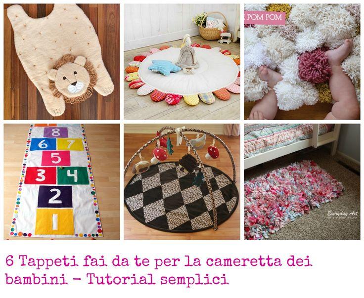 Tappeti Cameretta Bambina : Migliori idee su tappeti fai da te pinterest