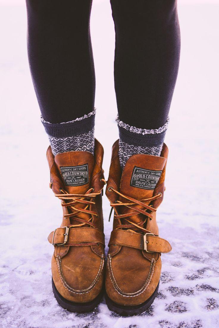 Ralph Lauren boots.