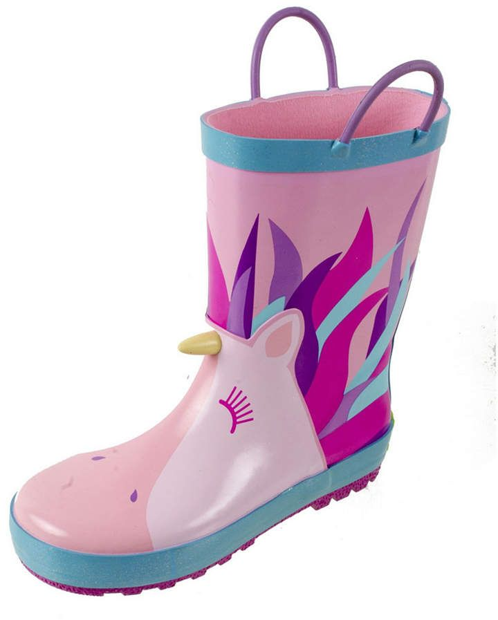 Rainbow Daze Little Girls Rain Boot
