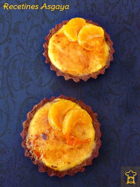 Tangerine Creme Brulees Tartelettes / Tartaletas de Mandarina ...