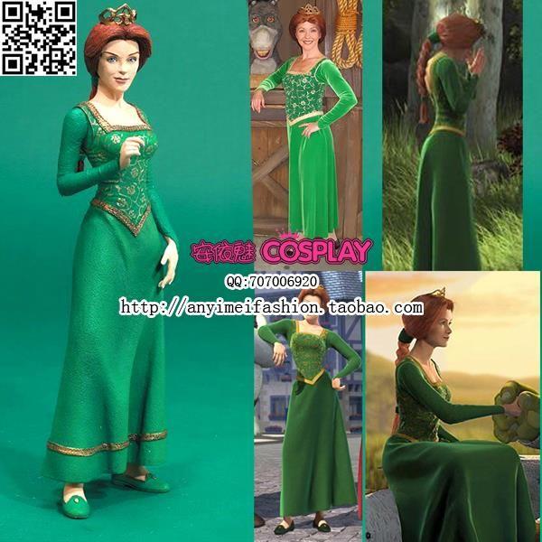 Принцесса фиона костюм