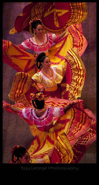 Mexican Folk Dance ~ by tojygeorge, via Flickr