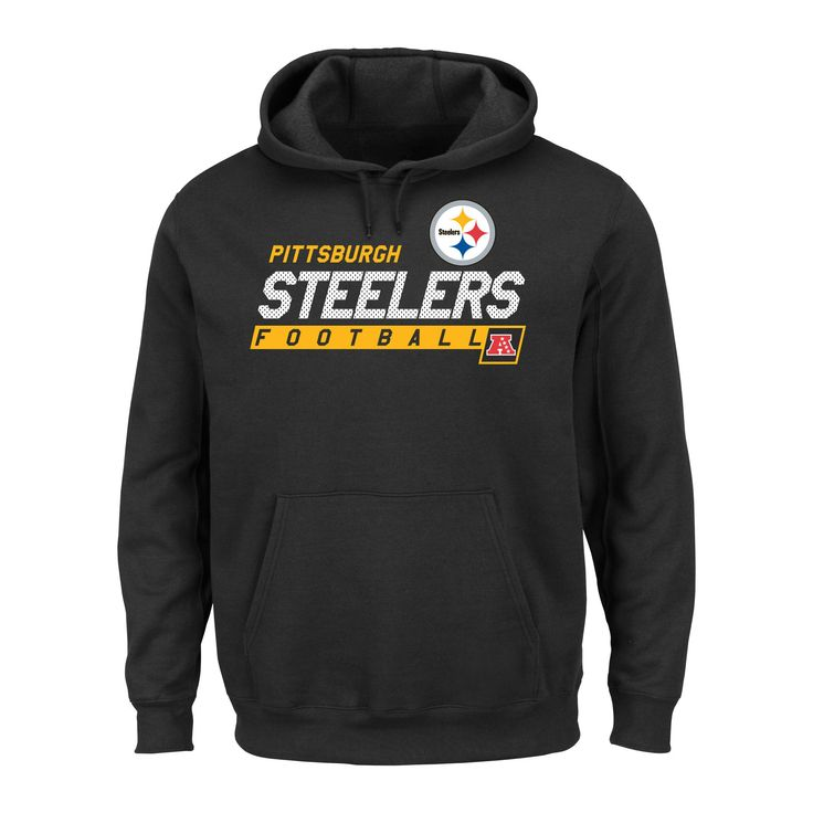 Pittsburgh Steelers Men's Big & Tall Team Pride Fleece Pullover Hoodie Sweatshirt - 3XL Tall