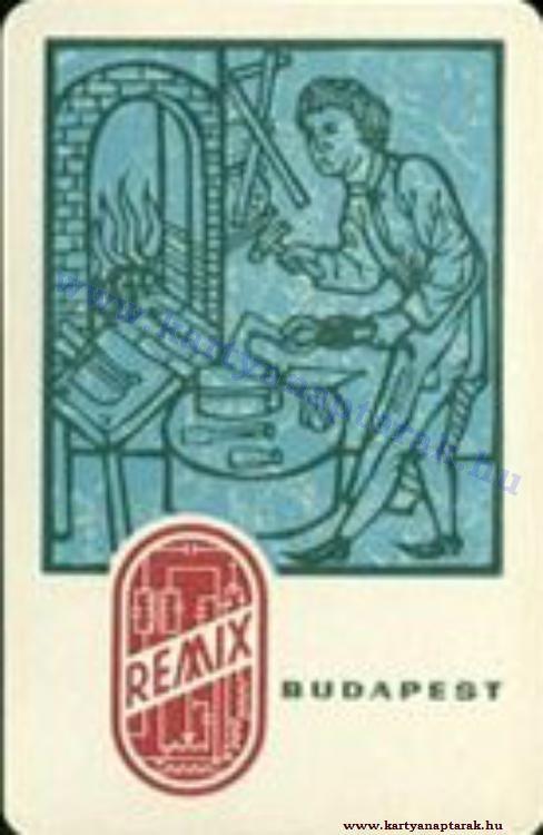 1964 - 1964_0169 - Régi magyar kártyanaptárak