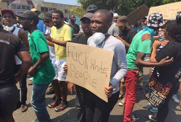 LIVE: Student protesters face off with police in Cape Town | News24
