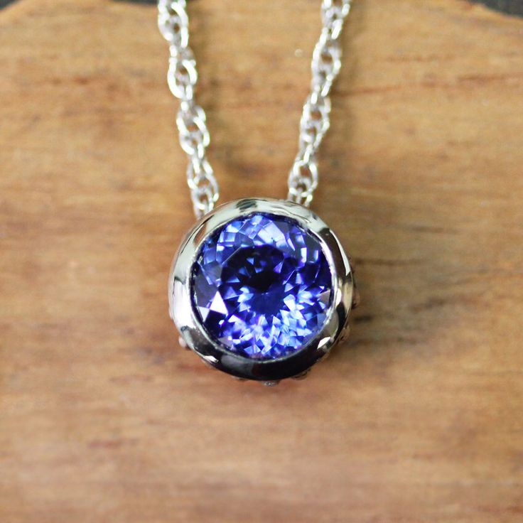 The 25 best tanzanite pendant ideas on pinterest diamond tanzanite necklace tanzanite pendant bezel necklace white gold necklace fine jewelry necklace mozeypictures Choice Image