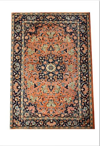 A beautiful #Persian Bidjar Halvai #Rug for Home Interior   Semi-Tribal, intricately woven in traditional floral and medallion motif. Excellent quality. Ready for Clearance