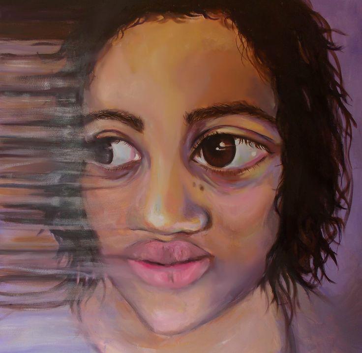 Jae Hyun Sul- Aliyah (2014)- Oil on Canvas