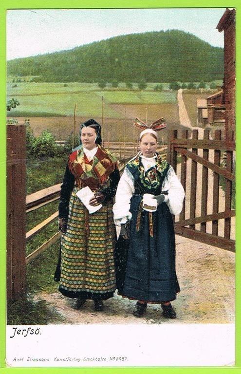 Järvsö, Hälsingland. Early 1900íes.