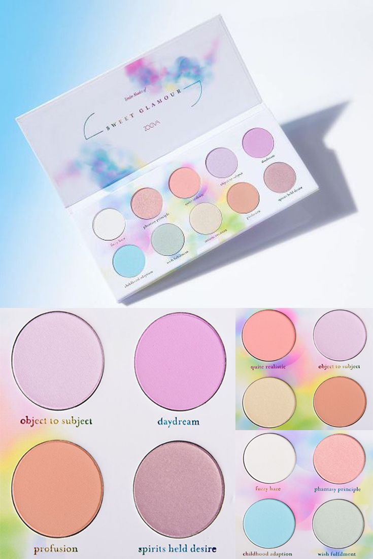 New Eyeshadow Palette from Zoeva Cosmetics! These beautiful colors will be great for Easter makeup looks!