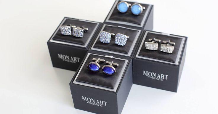 Butonii eleganti de la furnizorul MON ART - Italia va completeaza tinutele elegante. In magazinele Seroussi gasiti o multitudine de modele si culori.