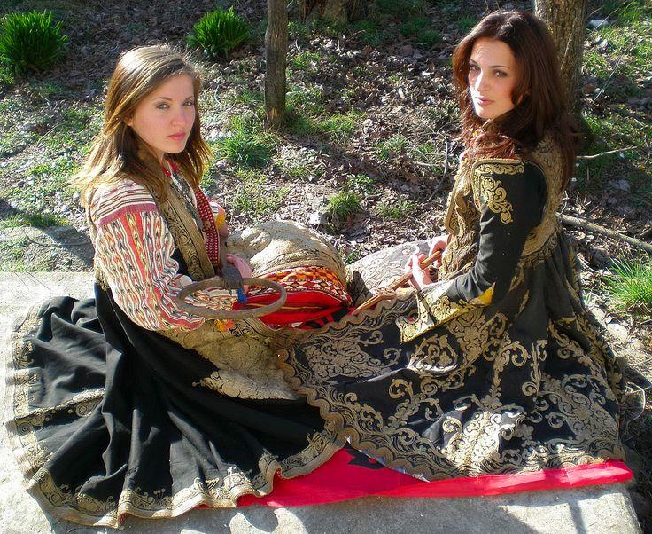 1000+ images about Folk Art on Pinterest   Folk costume ... Albanian Muslim Girls