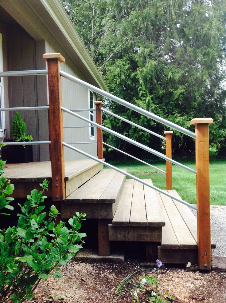 Best 25 Outdoor Stair Railing Ideas On Pinterest Stair 640 x 480