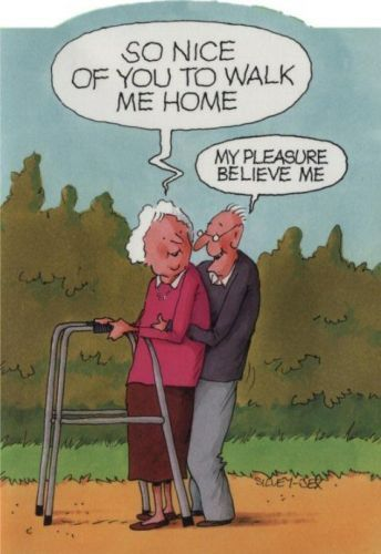 85 Best Funny Elderly Couple Cartoons Images On Pinterest -2612