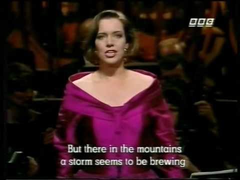 """Nina Stemme 1993 - Der Freischütz """"Wie nahte mir der Schlumm - YouTube"""
