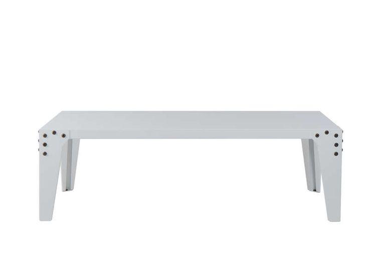 Table Basse AchatDesign, achat Table basse en acier style industriel RIVET prix promo AchatDesign 390.00 € TTC au lieu de 490 €