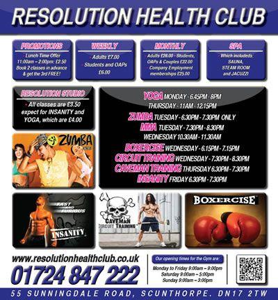 Resolution Health Club
