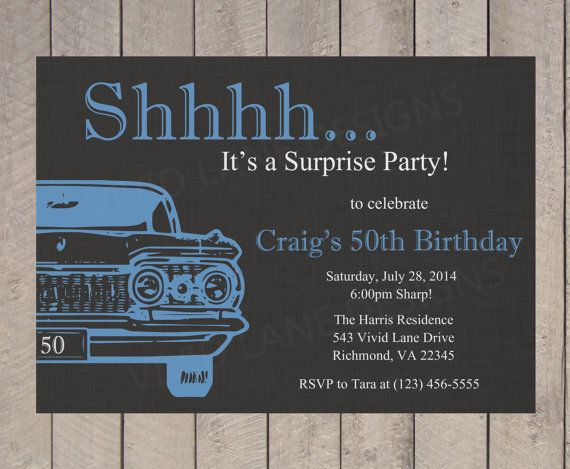 Invitación de cumpleaños de adulto adulto por VividLaneDesigns
