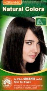 Organik Saç Boyası – Doğal Saç Boyası - Natural Colors Organik Saç Boyası renkleri