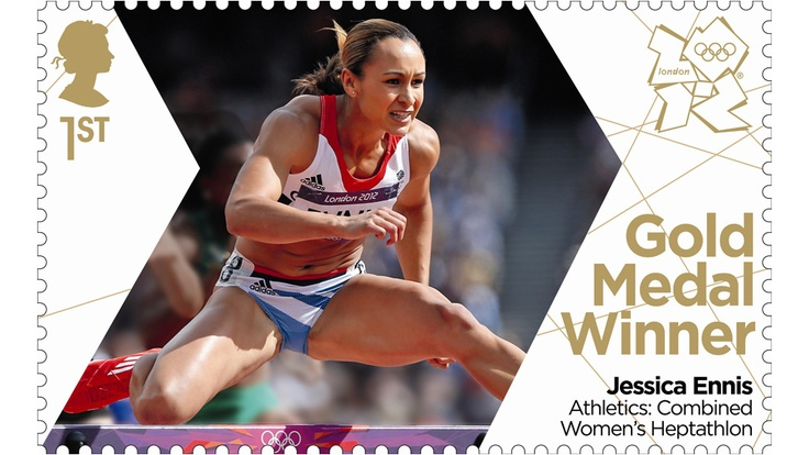 London 2012 Olympics Gold Medal Winners~Team GB's Golden Stamps