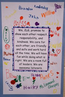 Madame Belle Feuille: Classroom Mission Statements