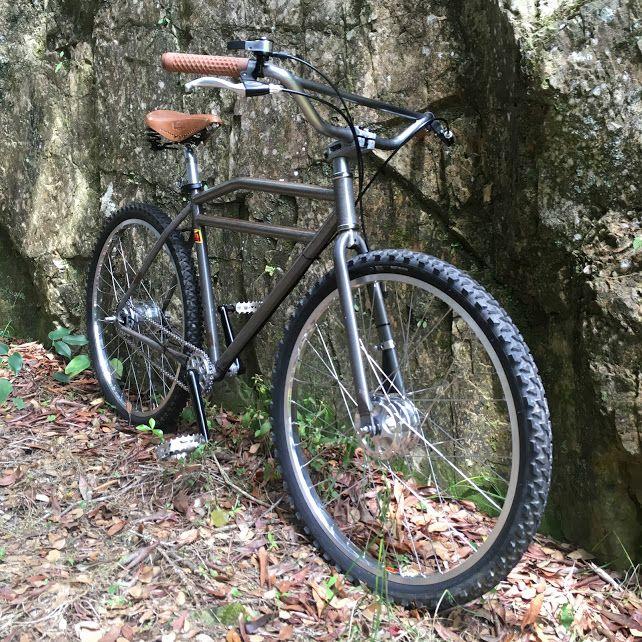 クランカー Klunker でよみがえる26インチmtbの愉しみ 自転車 マウンテンバイク ビーチクルーザー