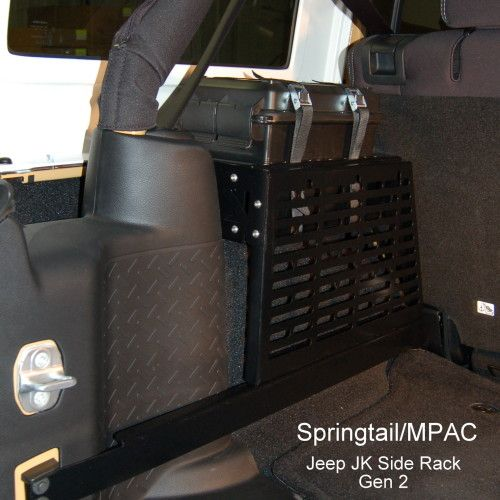 Cool Jeep JK Unlimited MOLLE storage