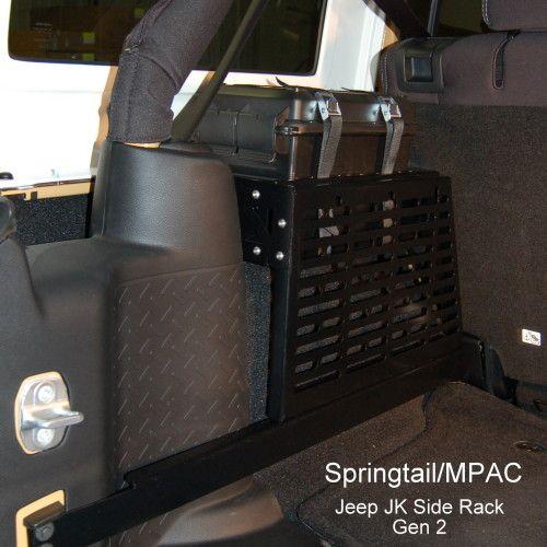 Cool Jeep JK Unlimited MOLLE storage