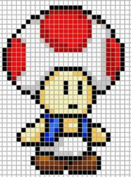 Les 25 meilleures idées de la catégorie Pixel art toad sur