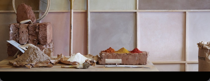 ... clay in beautiful colours for indoor use. From Cornwall, England