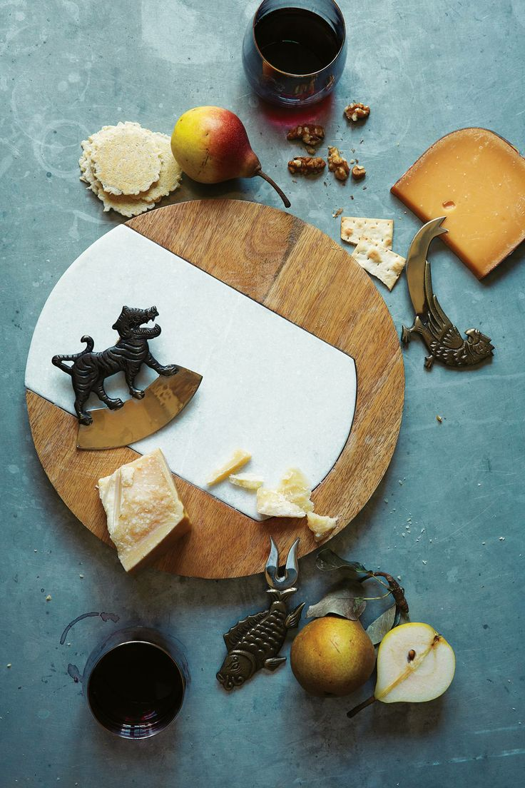 Mythology Cheese Knives, unusual. cool.