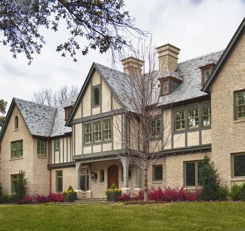 American spin on tudor architecture