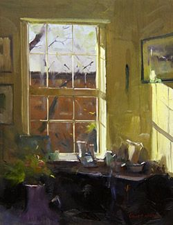 Oil Painting Videos From Colley Whisson, A Internationally Acclaimed Artist  And Workshop Teacher.