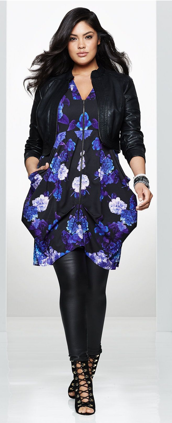 Plus Size Tunic Dress  Check out our amazing collection of plus size leggings at http://wholesaleplussize.clothing/