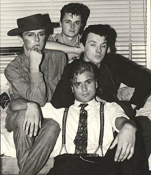 Steve Strange, Chris Sullivan, Graham Smith, Steve Norman, Blitz Kids, Swinging 80s, London