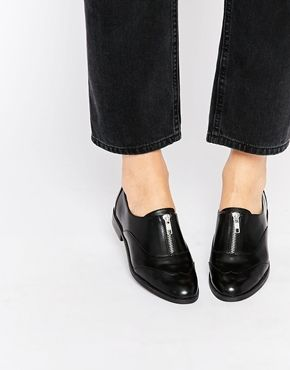 New Look Flat Shoes with Zip