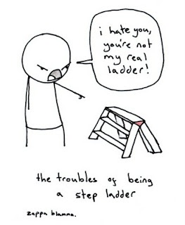 Step LadderStep Ladders, Real Ladders, Laugh, Poor Step, Funny Stuff, Humor, Things, Funnystuff, Giggles