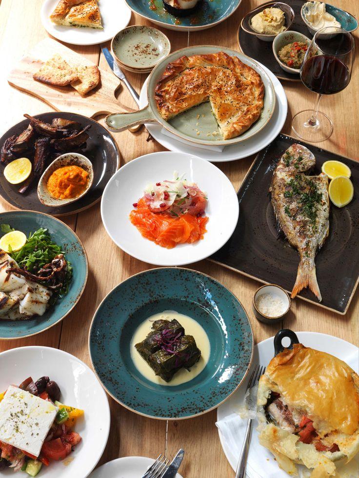Alpha Restaurant Greek food CBD