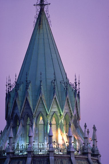 Parliamentary Library roof, Ottawa, ON