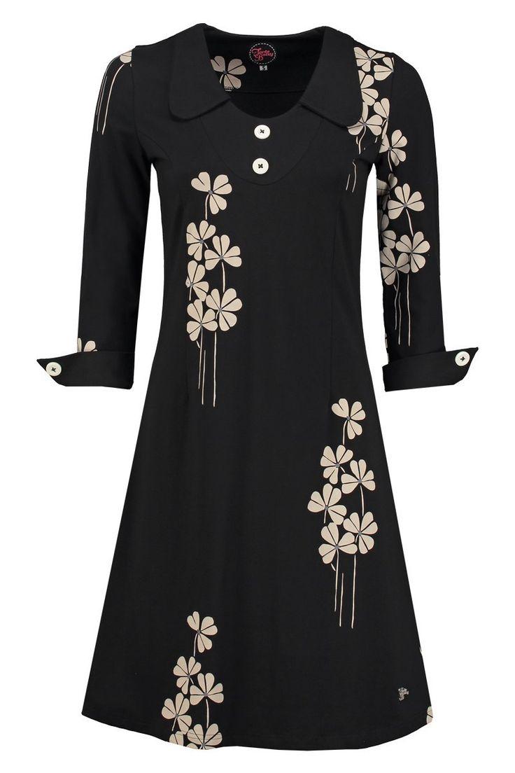 Dress Fifi Field Black -Tante Betsy.com