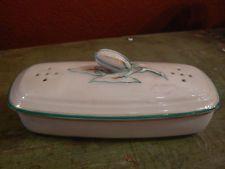 ancien porte savon porcelaine limoges fruit